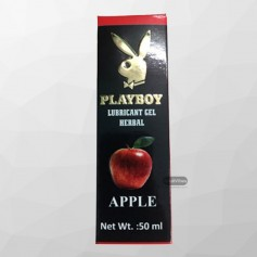 Playboy Lubricant Water Based Gel - Apple Flavoured CGS -032