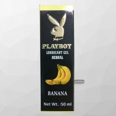 Playboy Lubricant Water Based Gel - Banana Flavoured CGS -031