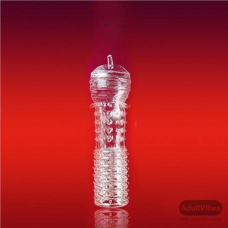 Sex Flesh Silver Non-Vibrating Dildo DNV-022