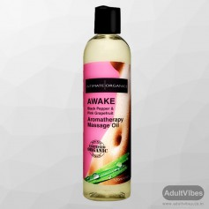 AWAKE AROMATHERAPY MASSAGE OIL - Black Pepper 120ml CGS -015
