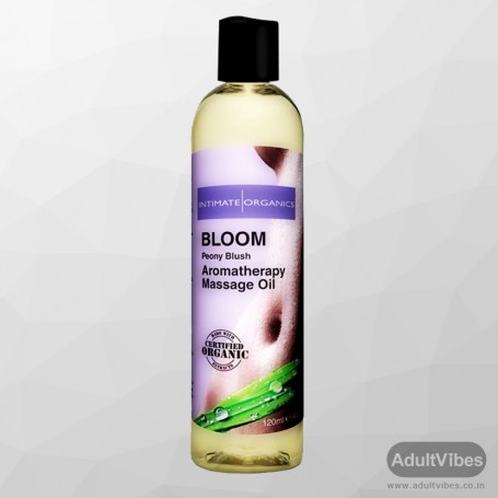 BLOOM AROMATHERAPY MASSAGE OIL - Peony Blush 120ml CGS -016