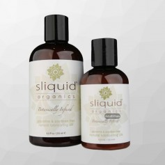 Natural lubricanting Silk Organic by Sliquid 125ml CGS -023
