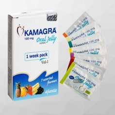 Kamagra Oral Jelly (Sildenafil 100mg) CGS -027