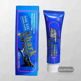 Shark Power Penis Enlargement Cream for Men 50gm-ORIGINAL PEC-002