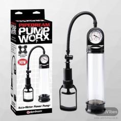 Worx Accu-Meter Power Penis Enlargement Pump PE-010