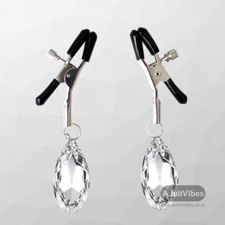 Crystal Clip Nipple Clamp NCV-001