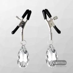 Crystal Clip Nipple Clamp NCV-001