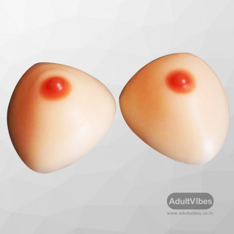 Silicone Breast Triangle D Cup SBP-003